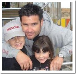Brian Stow and Daughters Picture for Fundraiser
