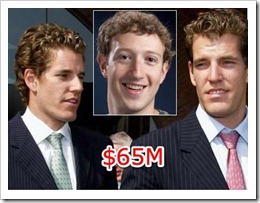 Winklevosses and Zuckerberg