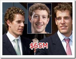 Winklevosses and Zuckerberg